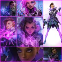 Sombra | Overwatch by TeaniaFire