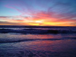 Santa Monica Beach, 2006 3 by angelstar22
