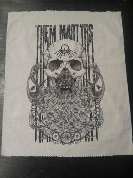 Them Martyrs - Back Patches by Mullduggery