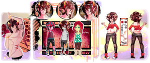 HS: [Lomixl Lavien - ref sheet] by o-Ironical-O