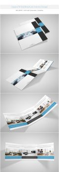Square Tri-fold Brochure-Interior Design by shapshapy