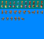Complete Emerl palettes and custom poses by metakeru