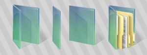 Vista's Green folders for 7, 8 and 10 by CitizenJustin