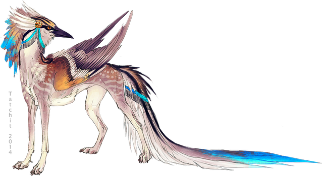 Painted Birddog Adopt by NukeRooster