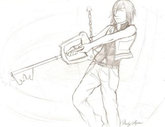 Riku keyblade sealing by digipinky75910