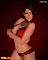 DOAX3 Clam Photoshoot: Momiji by ShadowNinjaMaster