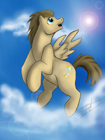Doctor Whooves pegasus version by Silnat