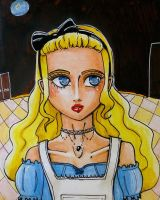 Alice in Wonderland by Naefa