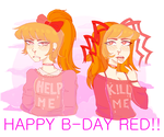 Gift- Happy b-day red!! by yosuehere