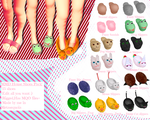 MMD House Slippers DL! by TellisonK