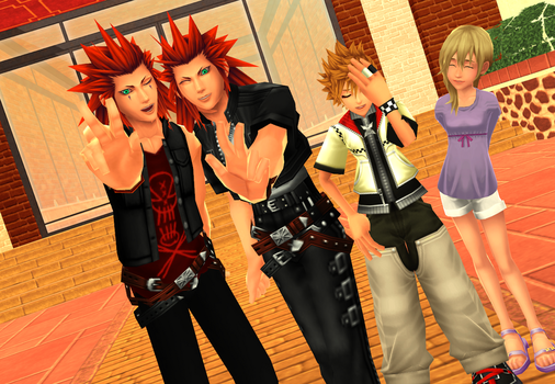 MMD KH - Two Is Better by XxChocolatexHeartsxX