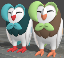 XPS Pokemon Sun and Moon Dartrix