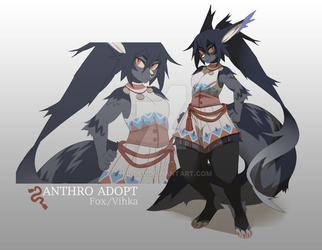 Anthro Adopt Auction [SOLD] by Kel-Del