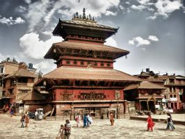 Bhaktapur HDR by bijend