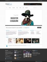 AlphaPack Premium HTML Template by ZERGEV