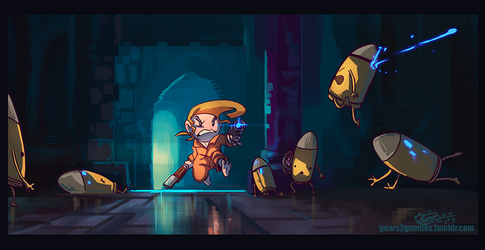 SGDQ2018 - Enter the Gungeon by knight-mj