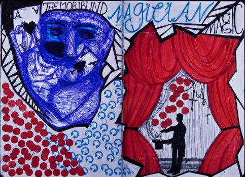 The Sketchbook Project 2013 - M by Nakilicious