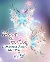 Wings Fantasy PSD-PNG! by MLauviah