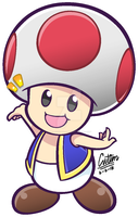 .:Toad / Kinopio - Puyo Puyo 20th-styled:. by CaitlinTheStarGirl
