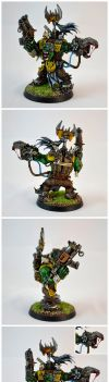 Ork Warboss by razzminis