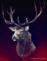 Not Bambi by TimelordLoki