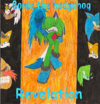 Sonic Revelation Comic Cover by Sonicfan160