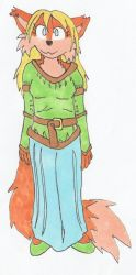Elder Scrolls Comic Outfit Test 01 by tails-sama