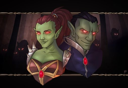 Orc assault by XenoWitch