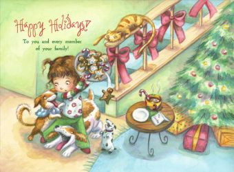 Christmas Cookies Card 2009 by Isynia-Artessa