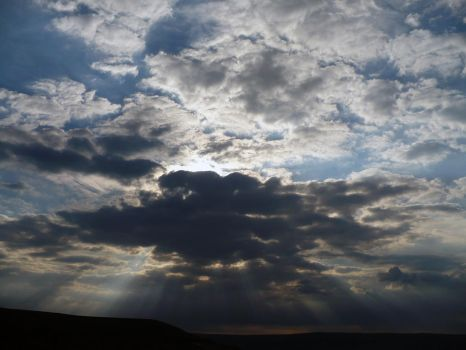 God Rays and Clouds by Arkz86