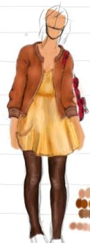 WIP clothes: Cherie by Famys