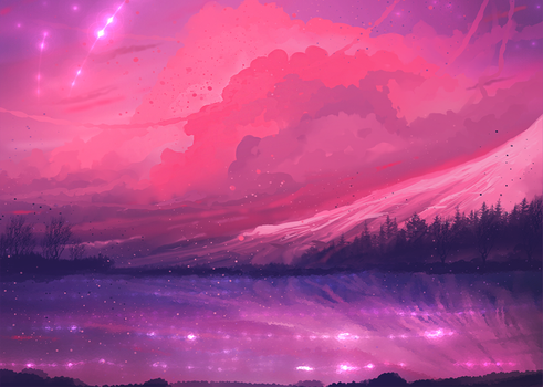 Pink Sky (1000 points- closed) by ryky