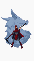Red Riding Hood (concept art / illustration) by ninjakimm