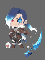 Wintering Kayn concept art by Avenisia