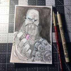 $25 Thanos by JeremyTreece