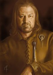 EddardStark 2 by blackwings736