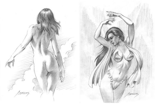 warmup figure studies by PaulAbrams