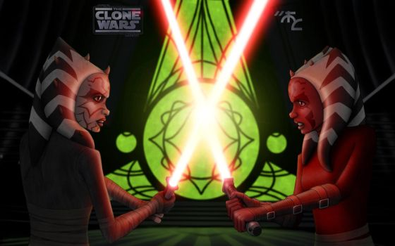 Duel of Dark Hybrid Clones by Master-Cyrus