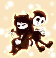 CandyxBendy by SoulofWoods