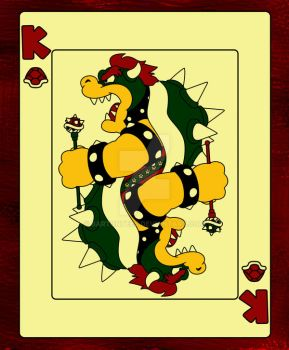 Bowser, King of Koopas by BartonTees