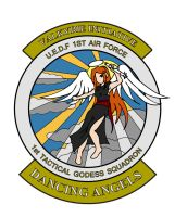 1st Tactical Godess Squadron Emblem Final by Skunk-Works