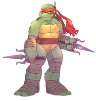 Raphael in Manhattan by Shellsweet