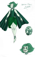 Green Tree Agate by sketchris