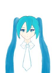 Miku Hatsune (my first digital attempt) by InfernoZtorm
