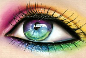 Rainbow Eye by gabbyd70