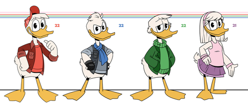 DuckTales: Young Adults by MexCraziness