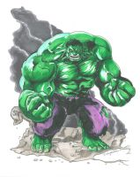 The Incredible Hulk by DKHindelang