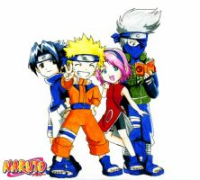 Naruto Team by xPrincessSakurax