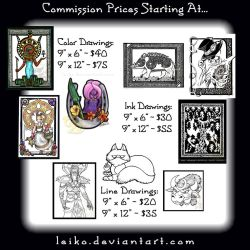 Leiko's Commission Info by leiko
