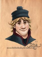 Kristoff Portrait by MoonchildinTheSky